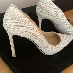 Jimmy Choo size 40 women's shoes. Worn one time.
